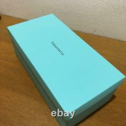 100% Authentic Tiffany & Co. Blue Ribbon Bone China Pair tea Cup 2set w box