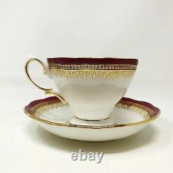 100 Years of Royal Albert England Tea Cups And Saucers Set in Original Gift Box