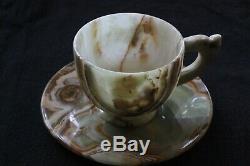 10 Pc Teacup & Saucer Set Five (5x) 3 Teacup 5 Matching Plate Combos