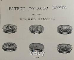 1867 Meriden Britannia Silver Plate Catalog Tea Sets Bowls Bells Wine Cooler Cup