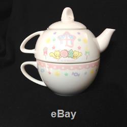 2012 Kiki Lala Little Twin Stars Tea For One Tea Pot & Cup Set SANRIO Japan FS