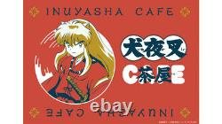 2Set Inuyasha Cafe japan Ltd Cup & Sauce inuyasha & Sesshomaru DHL Authentic
