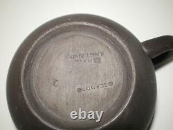 34 Pc Set Vtg Wedgwood Black Basalt Coffee Tea Pot Cup Mug Saucer Snack Plate