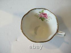 American Beauty ROYAL ALBERT Tea Pot and Cup 10 Piece Set