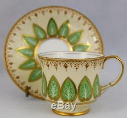 Antique Aynsley TeaCoffee SetCup & SaucerEnglishPorcelainGold Giltc1925