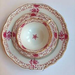 Antique Meissen Porcelain Indian Purple Tea Cup Set 1st Choice/Quality