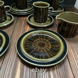 Arabia Finland Kosmos coffee set pot cup plate sugar bowl cake plate teacup GOG