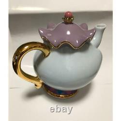 Beauty and the Beast Tokyo Disney Resort Land Mrs. Potts Tea Pot & Chip Cup Set