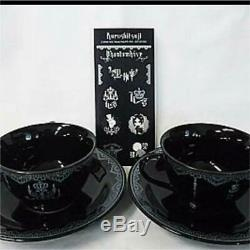 Black Butler Phantom Tea cup set Rare Anime From JAPAN