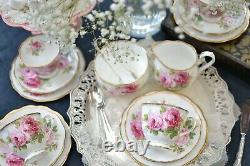 Bone China Royal Albert American Beauty Part Tea Set Trio Cup 1st Quality Ex Con