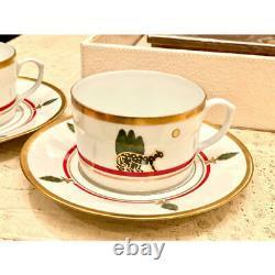 Cartier LA MAISON DE LOUIS CARTIER Cup 2 sets Coffee, Tea Near Mint F/S