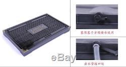 Chinese purple clay tea set tea pot tea cup solid-wood tea tray 43pcs WORTHWHILE