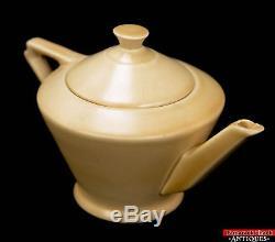 Complete VTG Royal Cauldon Tea Set for One Pot Cream Sugar Cup & Under Plate L1Z
