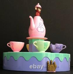 Disney Monorail Very Rare Mad Hatter Tea Cups Playset Alice In Wonderland