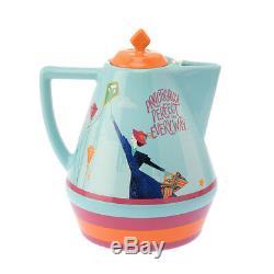 Disney Store Japan Tea Set Mary Poppins Returns Cafe Pot & Tea Cup