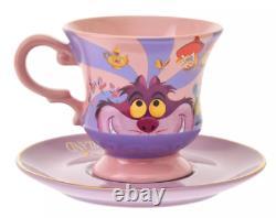 Disney store Japan Teapot and Tea Cup Set Alice in Wonderland 70th Anniversary