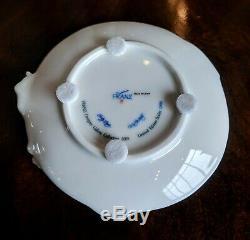 Franz Iris Windswept Beauty Porcelain Sculpted Teacup with Saucer/Spoon Set VTG