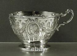 German Silver Tea Set c1895 GEORG ROTH