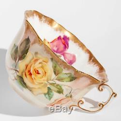 Hammersley Tea Set 13631 Warm Blush Bone China 10 Tea Cups, Saucers & Tea Plates