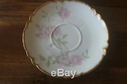 Haviland Limoges Baltimore Rose 1151 Tea Coffee Chocolate Set pot creamer cup