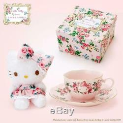 Hello Kitty & Laura Ashley Plush & Tea Cup Set