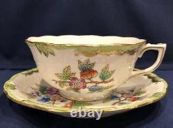 Herend Queen Victoria Teacup and Saucer Set(s) 734