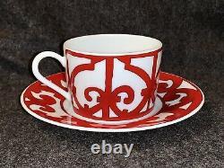 Hermes BALCON DU GUADALQUIVIR Tea Cup and Saucer Set
