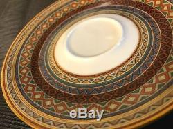 Hermes Porcelain Tea Cup Saucer 2 set Cheval d'Orient Horse Tableware New No, 6