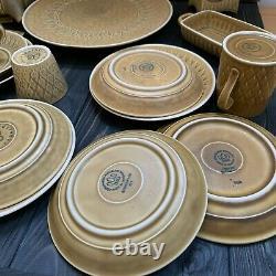 Jens Quistgaard Relief Bing Grondahl Kronjyden teacup set coffee plate porcelain