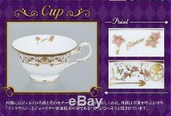 JoJo's Bizarre Adventure Giorno Giovanna Model Tea Cup Saucer Set Mug Noritake