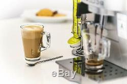 Latte Glasses With Spoons Tea Cup Coffee Mug Cappuccino Hot Drinks Chocolate