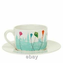 Lenox Disney Mary Poppins Teapot Sugar Bowl Teacup Saucer Ornament Set 5 PC NEW