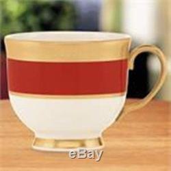 Lenox Embassy Cup & Saucer Set of 4