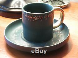 LitJoy Crate Lord of the Rings Teacup and Saucer Set RARE