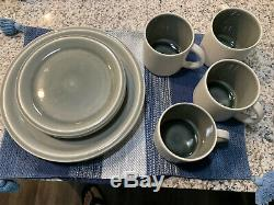 New Jars Dinnerware Set 4 Tea Cups, 4 Plates, 4 Saucers Made In France
