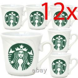 New Set Of 12 Mini Starbucks Coffee Tea Cup Mug Set Gift Kitchen Drinking Gift