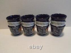 Official Disney Parks Alice In Wonderland Coffee Mug Mad Hatter Tea Cup Set of 5