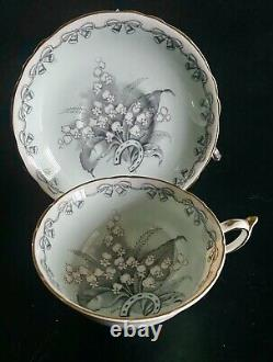 PARAGON Lily of the Valley TO THE BRIDE Vintage Teacup & Saucer Set