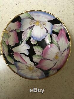 Paragon England Fine Bone China Cabbage Rose Tea Cup & Saucer Set