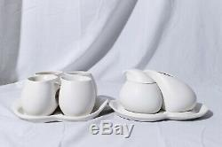 Peter Saenger Design II Star Trek TNG Picard Porcelain Tea Cups Cream Sugar Set
