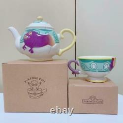 Pokemon Center Pot Death Teapot Yabacha tea cup set Japan Shop limited