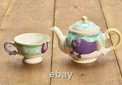 Pokemon Yabacha Teacup and Teapot Set Polteageist Pokemon Cafe Limited