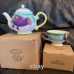 Pokemon center Pokemon Cafe Limited Sinistea Yabacha Tea pot + cup set Japan DHL