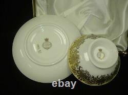 Queen Elizabeth II Golden Jubilee 2002 Limited Edition #1449 Teacup & Saucer Set