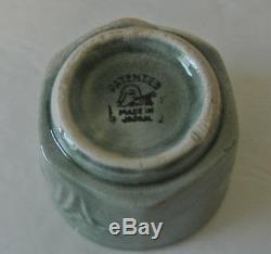 RARE SET ANTIQUE Japanese Tashiro CAMEL TEAPOT & TEA CUPS Bowl Pot MADE IN JAPAN