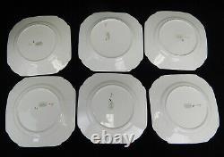 RARE Shelley England China Vogue Sunray Art Deco Tea Set Cup Saucer Plate Lot