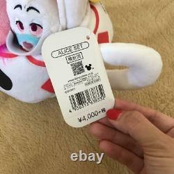 Rare! Alice in Wonderland Teacup Plush Set Disney Store Japan Cheshire Cat