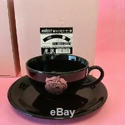 Revolutionary Girl Utena Tea Cup 2 set Anthy 20th anniversary Pink & Black Rare