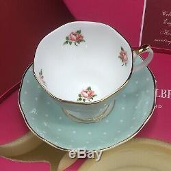 Royal Albert 100 Years 1900 1940 Set Of Five Tea Cups & Saucers Chintz Polka