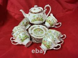 Royal Albert Chelsea Birds 21 Piece Tea Set